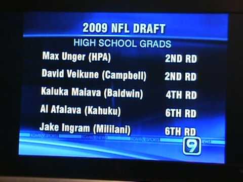 hawaii draft picks 09