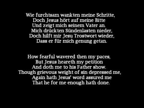 J.S. Bach Kantata BWV 33 - Allein Zu Dir, Herr Jesu Christ