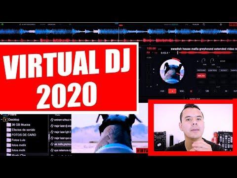 VIRTUAL DJ 2020 - NOVEDADES Y LINK DESCARGA (Versión oficial) | PRIMERAS IMPRESIONES