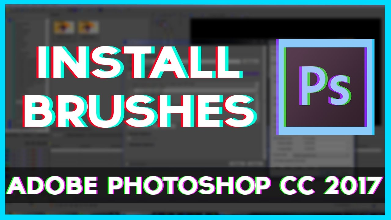 To in how load brushes photoshop