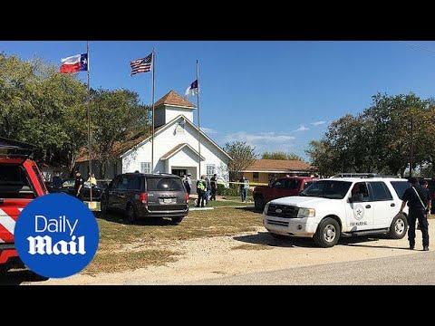 Donald Trump denounces Texas church shooting as 'act of evil' - Daily Mail