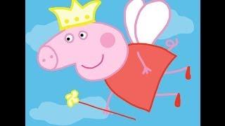 Peppa Pig Fairy How to draw a easy? Свинка Пеппа в костюме феи. Как нарисовать?