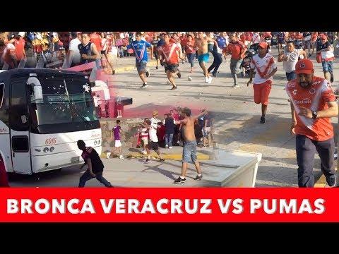 Bronca Veracruz vs