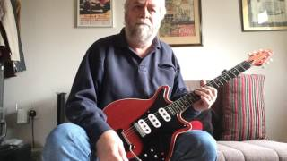 Brian May finished building his famous guitar around 1963. It looke...