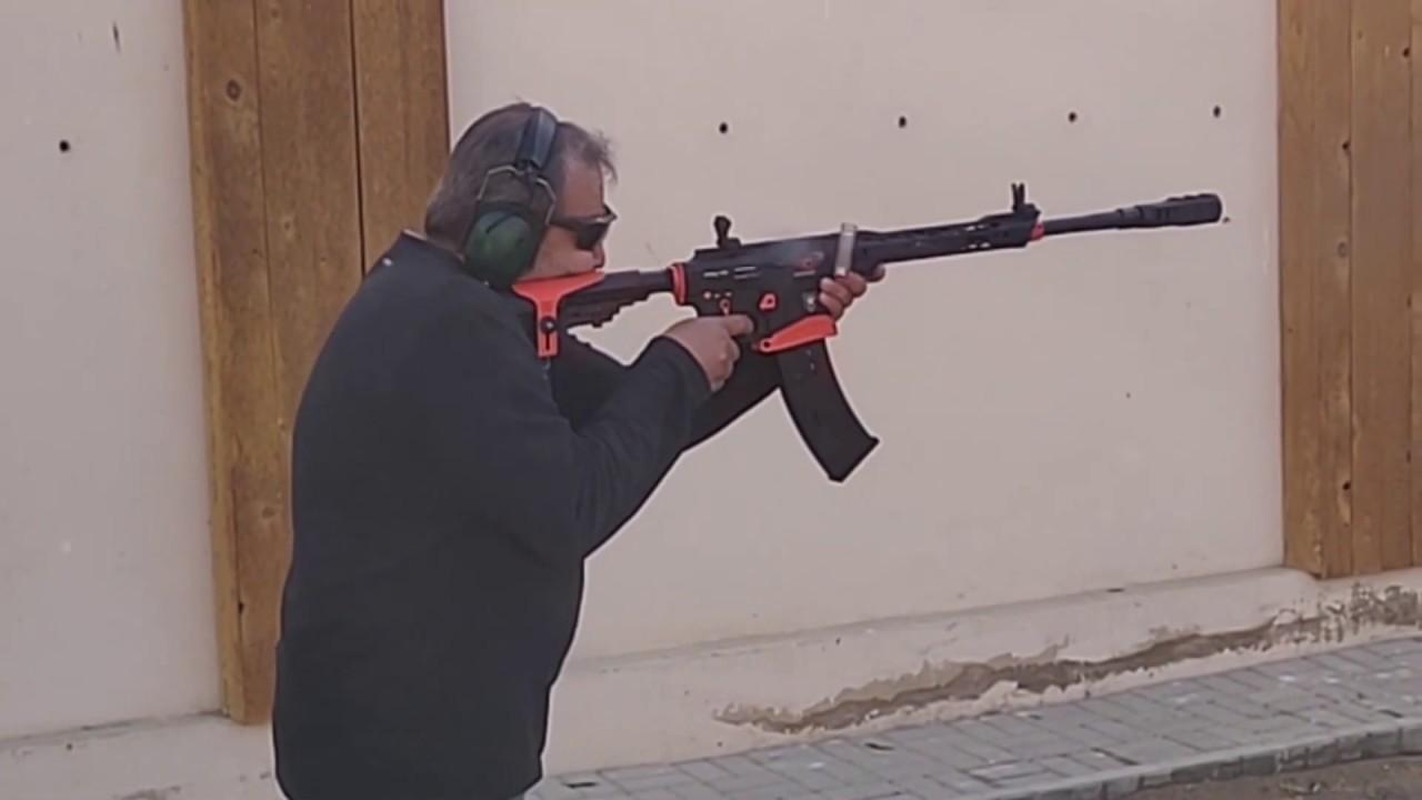 Shooting Derya MK-12 AS-101S
