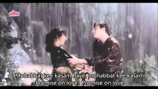 Dil Tera Deewana he sanam Hindi English Subtitles Full Video Song