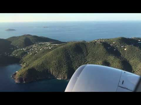 Take-off from STT Saint Thomas Cyril E. King Airport
