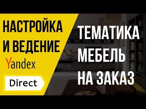 Яндекс Директ - Кейс Мебель на заказ.