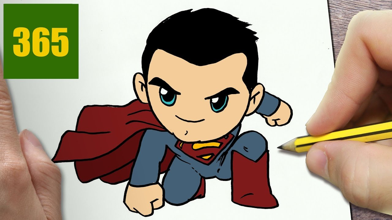 Comment dessiner superman kawaii tape par tape dessins kawaii facile youtube - Dessin de disney facile ...