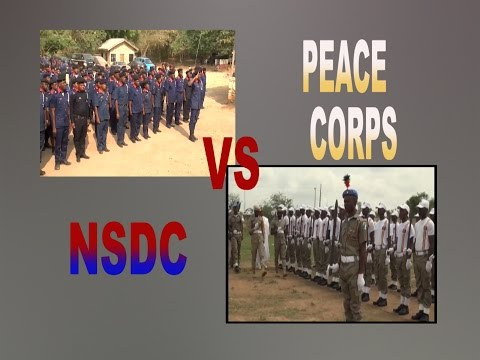 peace corps battle with deffence corps in osun state
