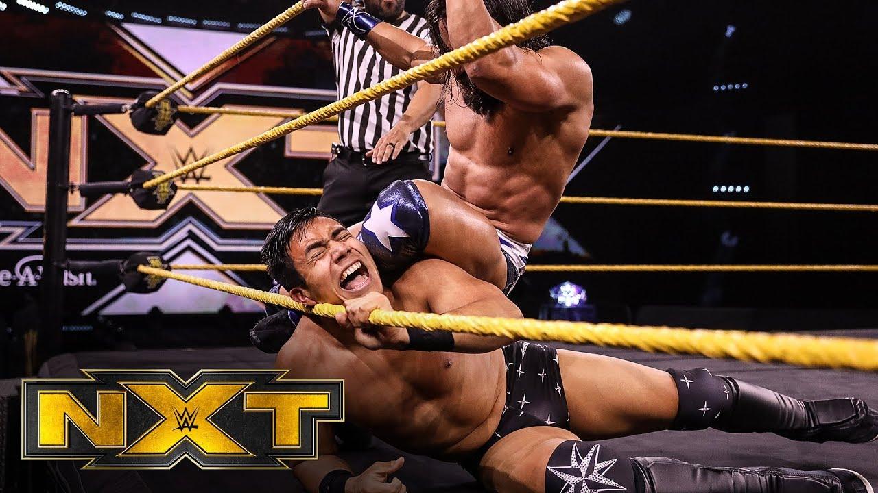Jake Atlas vs. Tony Nese – NXT Cruiserweight Title Tournament Group A Match: WWE NXT, May 13, 2020