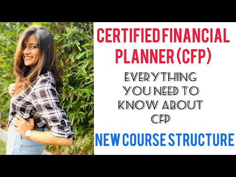 Certified Financial Planner (CFP) Certification - NEW Course structure