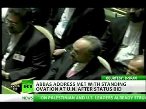 US Diplomacy Fail -- Palestine's statehood bid at UN
