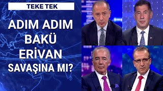 Azerbaycan-Ermenistan gerilimi Türk ordusu için yeni bir cephe mi?  Teke Tek - 29 Eylül 2020
