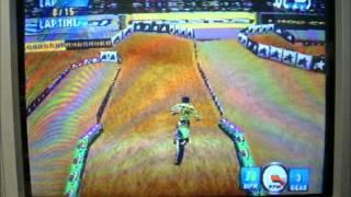 Jeremy McGrath Supercross 2000 N64 125cc Supercross Race
