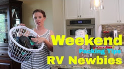 RV PACKING LIST || WEEKEND RV PACKING TIPS || ORGANIZE THE FAMILY