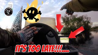 FLORIDA HURRICANE Bass Fishing TURNS DEADLY DANGEROUS!! Is this HOW IT ENDS??!! (REAL!!)
