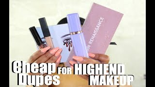 Video Cheap Dupes for Popular Highend Makeup 2017 download MP3, 3GP, MP4, WEBM, AVI, FLV Januari 2018