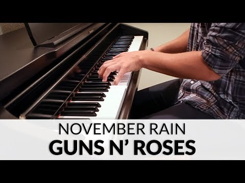 Guns N' Roses - November Rain | Piano Cover