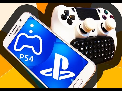 PS4 Remote Play on Samsung Galaxy S6