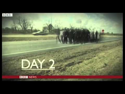 NEWS: Selma to Montgomery: Retracing the march - BBC News