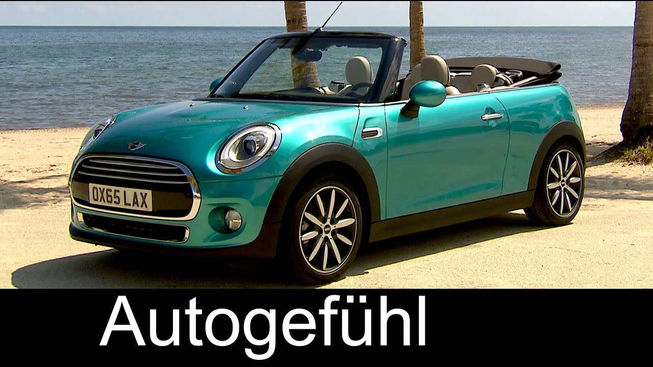 New Mini Convertible Cabriolet Preview Exteriorinterior My2016