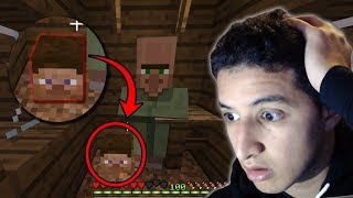 This Minecraft Village is hiding a Terrible Secret... (Scary Minecraft Video)