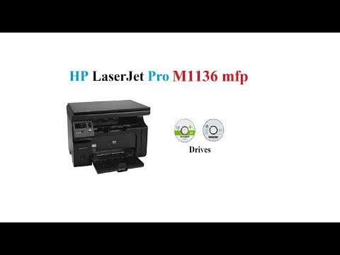 HP M1136 Mfp | Driver