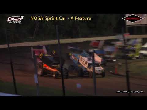 NOSA 410 Features - Casino Speedway - 6/24/18