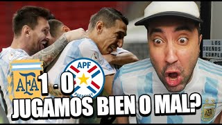 ARGENTINA 1 - 0 PARAGUAY | Reacción de un Argentino | Copa América 2021