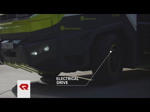 Concept Fire Truck – Electric Drive & Low Emissions