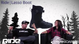 2015 Ride Lasso Mens Boot Overview by SnowboardsDOTcom