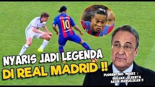 Nyaris Jadi Legenda Real Madrid ⚠️ Inilah Balasan Menyakitkan Ronaldinho Kepada Florentino Perez‼️