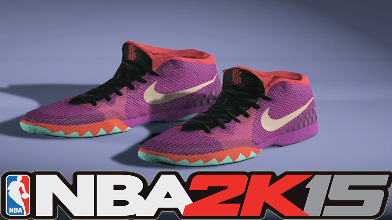 new concept f5216 399d9 NBA 2K15 Shoe Creator - Nike Kyrie 1 Easter   NBA2K15