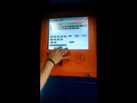 How to use ATVM machine for ticketing at stations ...Western Railway