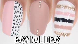 5 EASY NAIL IDEAS! new nail art compilation