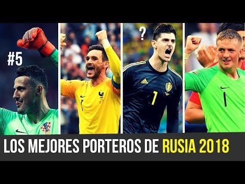 TOP 9 MEJORES PORTEROS del MUNDIAL RUSIA 2018