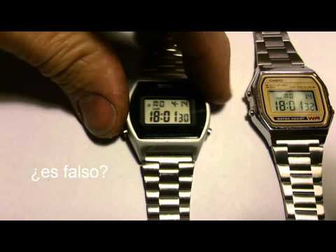 CASIO FALSIFICACION RELOJ DIGITAL 2