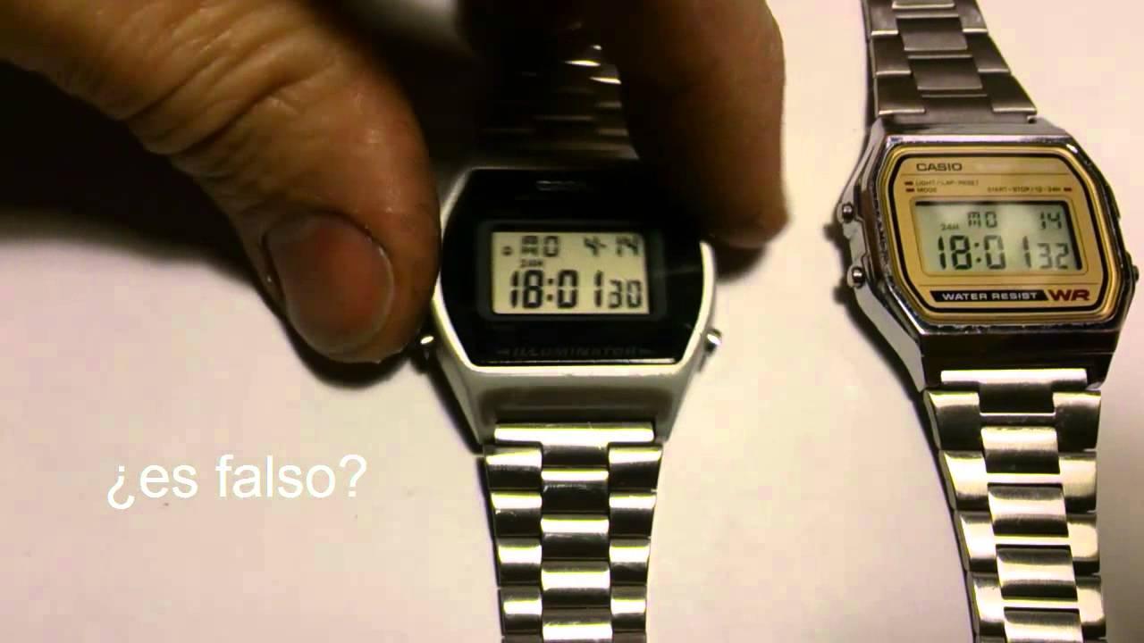 d6c0968ec08f CASIO FALSIFICACION RELOJ DIGITAL 2 - YouTube