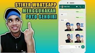 Download Video Cara Membuat Stiker Whatsapp Menggunakan Foto Sendiri (stiker untuk whatsapp) MP3 3GP MP4