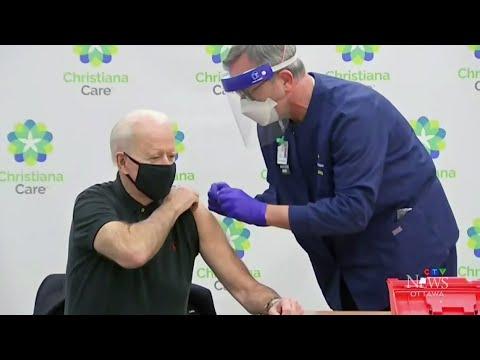 uOttawa grad administers vaccine to U.S. President Biden