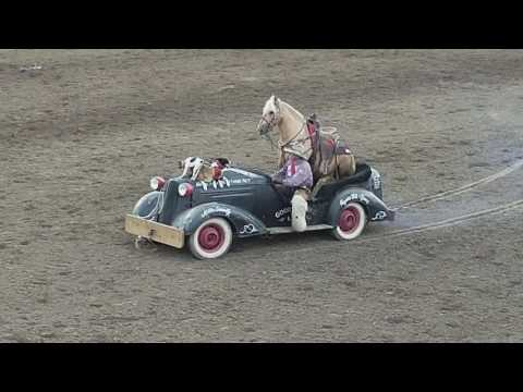 """Reno Rodeo 2017, The """"Good and Broke"""" limo carrying a VIH"""