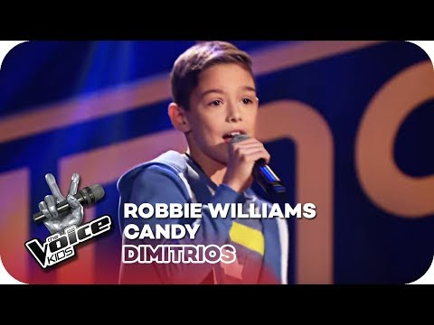 Robbie Williams - Candy (Dimitrios) | Blind Auditions | The Voice Kids 2018 | SAT.1