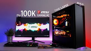 Php100K MSI RGB Gaming PC Time Lapse Build ft. MEG Z390 ACE, RTX 2070 Gaming Z & Gungnir 100