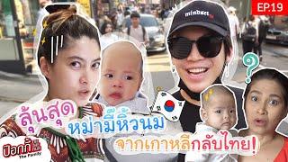 EP.19 | ป๊อกกี้ on the run ลุ้นสุด หม่ามี๊หิ้วนมจากเกาหลีกลับไทย!