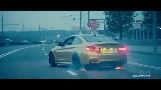 BMW M4 Crazy Moscow City Driving (zelimkhanshm)