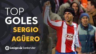 Sergio Agüero: Golazos con el Atlético de Madrid en LaLiga Santander