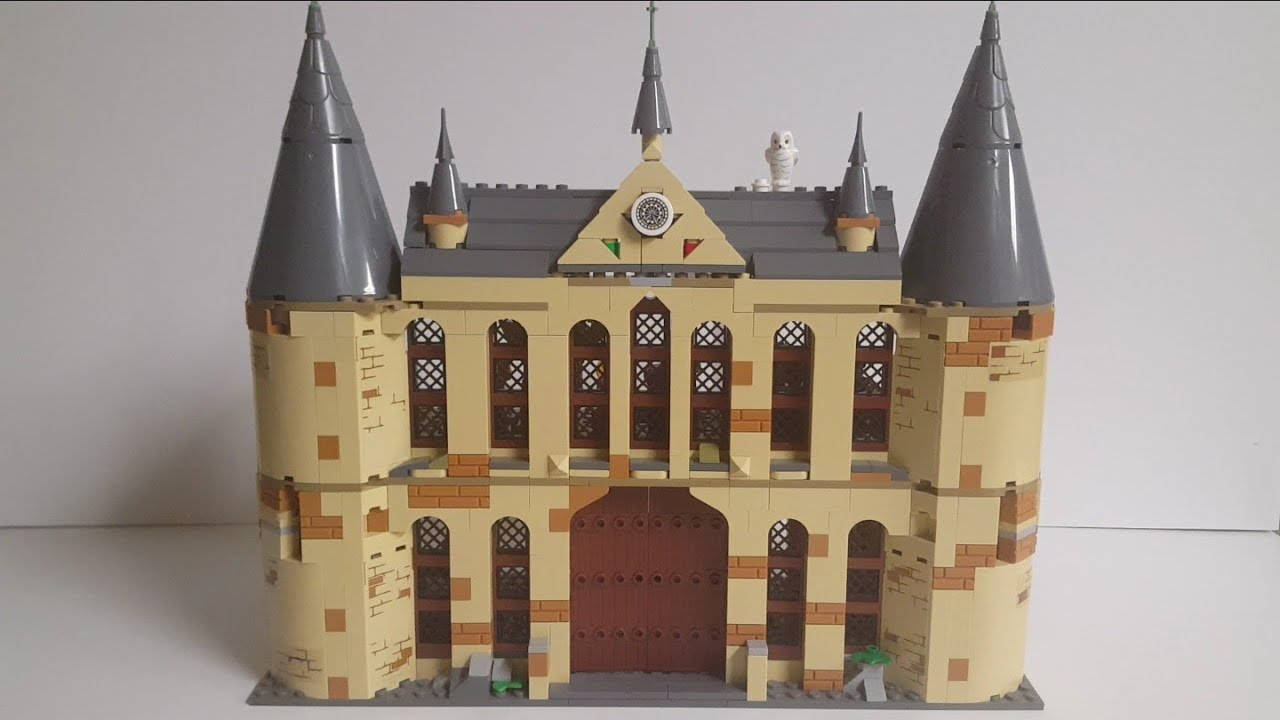 75953 Hogwarts Castle Section Only LEGO Harry Potter No minifigures, No box
