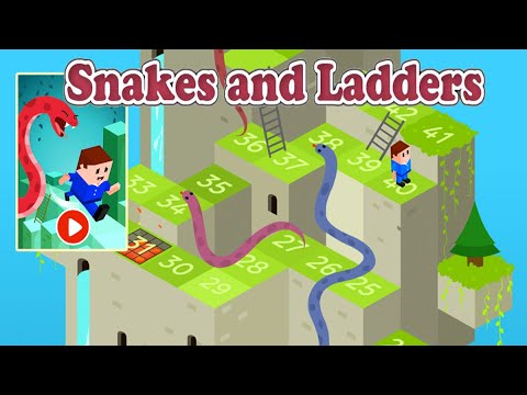 🐍 Snakes And Ladders - Free Board Games 🎲 2019 Complete Gameplay