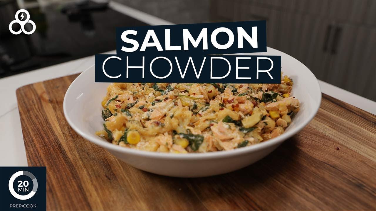 Healthy Salmon Chowder Recipe